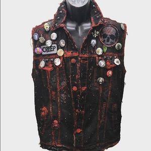 Creep vest by chad cherry